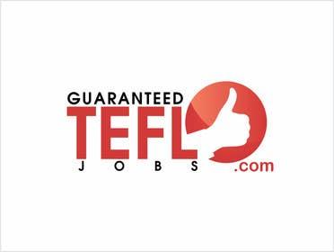 Nro 46 kilpailuun Design a Logo for guaranteed TEFL jobs käyttäjältä adrianusdenny
