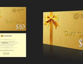 #23 for Design a $10 Gift Card for an Adult Store by adsis