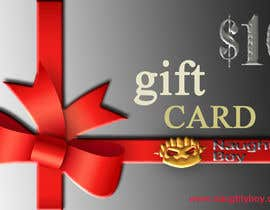 #12 for Design a $10 Gift Card for an Adult Store by Sebi71