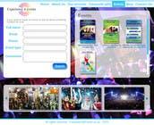Build a Website for a events management company için Graphic Design3 No.lu Yarışma Girdisi