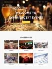 Build a Website for a events management company için Graphic Design4 No.lu Yarışma Girdisi