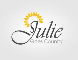 hubbak tarafından Design a Logo for Julie Goes Country için no 17