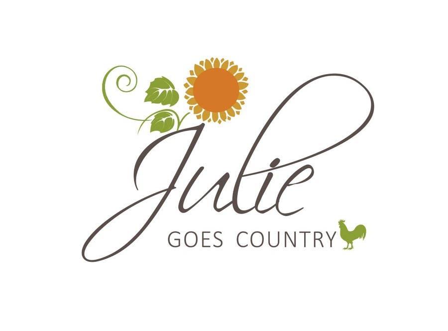 Konkurrenceindlæg #                                        29                                      for                                         Design a Logo for Julie Goes Country