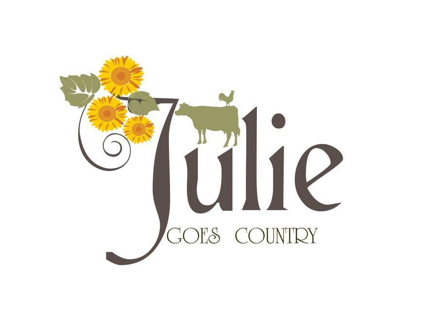 Konkurrenceindlæg #                                        70                                      for                                         Design a Logo for Julie Goes Country