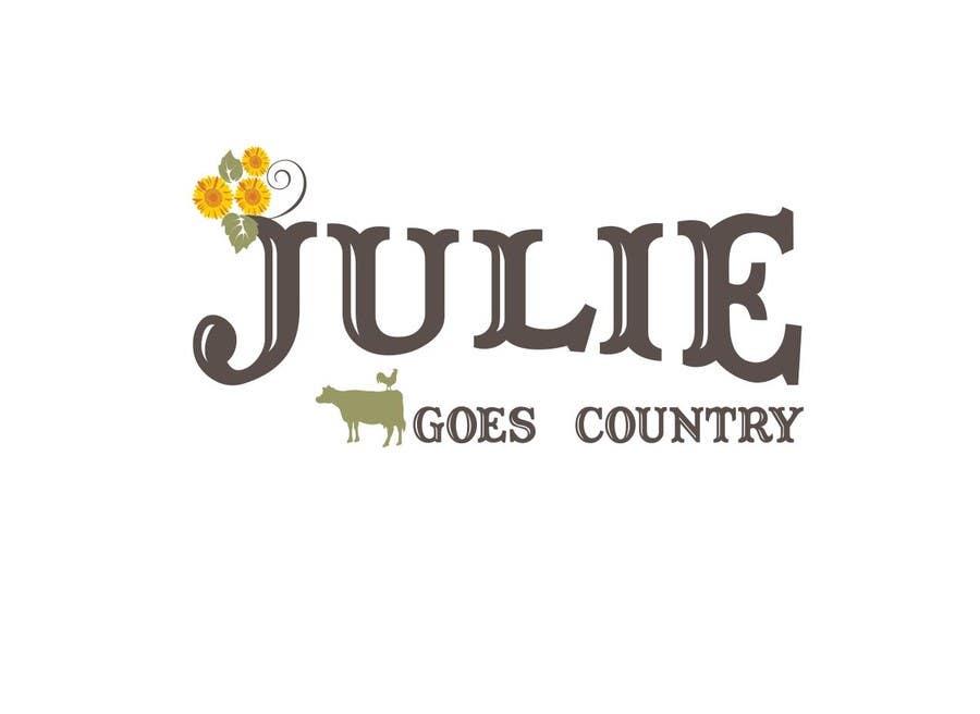 Konkurrenceindlæg #                                        86                                      for                                         Design a Logo for Julie Goes Country