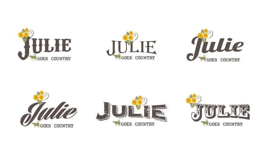 Konkurrenceindlæg #                                        91                                      for                                         Design a Logo for Julie Goes Country