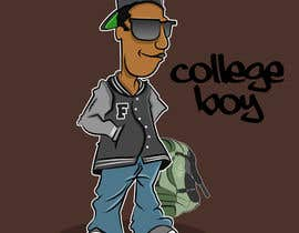 "#15 cho Design a T-Shirt for ""College Boy"" bởi akalyanpurkar"