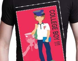 "#19 cho Design a T-Shirt for ""College Boy"" bởi varnatasha"