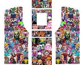 #10 untuk We need graphics skin design for arcade machine (pop art)-MUST BE ORIGINAL oleh rafaelM20