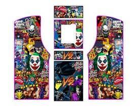 #20 untuk We need graphics skin design for arcade machine (pop art)-MUST BE ORIGINAL oleh rafaelM20