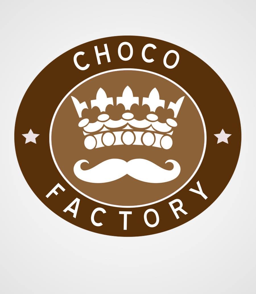 Penyertaan Peraduan #29 untuk Choco Factory Logo