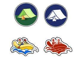 #16 for Camping Stickers by eeshikaprakriti