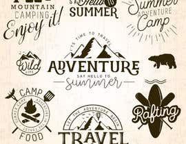 #22 for Camping Stickers by af059422