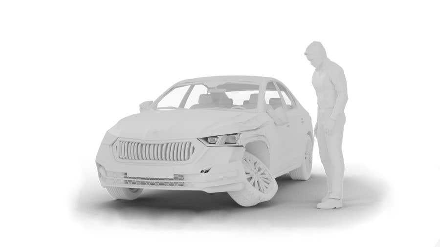 Proposition n°                                        11                                      du concours                                         3d white auto body damage