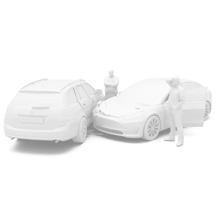 Proposition n°                                        39                                      du concours                                         3d white auto body damage