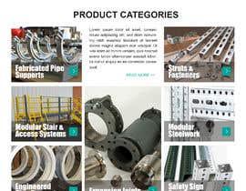nº 109 pour Build a mockup for new website homepage par carmelomarquises