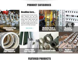 nº 130 pour Build a mockup for new website homepage par carmelomarquises