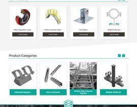 nº 17 pour Build a mockup for new website homepage par mnouman450