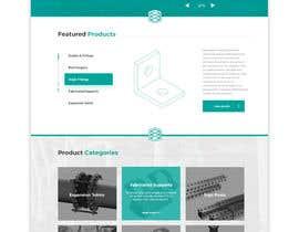 nº 123 pour Build a mockup for new website homepage par KreateKat