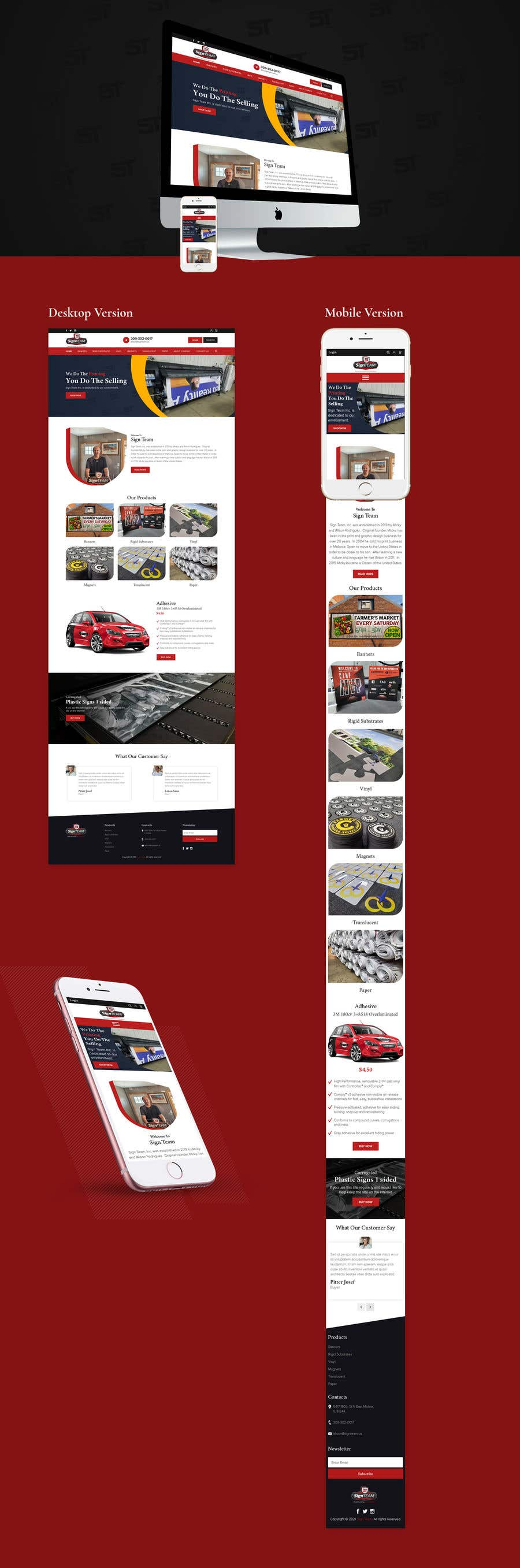 Konkurrenceindlæg #                                        20                                      for                                         Redesign front home page and product page