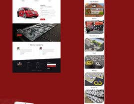 #20 for Redesign front home page and product page af saidesigner87