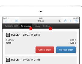 Decomex tarafından Point-of-Sale Web App Design (PSD) için no 16