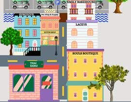 #3 for Design a cartoon drawing of a map by Grapdez