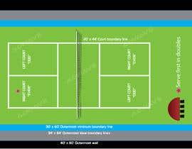 Nro 4 kilpailuun Pickleball court indoor environment mock-up käyttäjältä mashiur3691