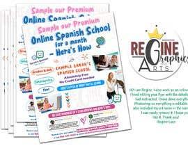 #4 untuk Create/update Flyer For Marketing to Parents of Elementary Kids oleh reginelace20