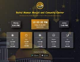 Číslo 30 pro uživatele Design a digital notice board for displaying in Mosque od uživatele abdullahalmamuna