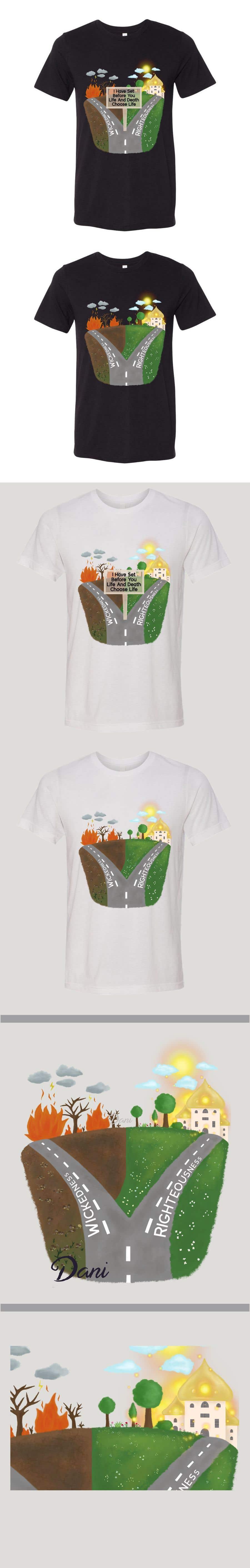 Kilpailutyö #                                        15                                      kilpailussa                                         T shirt art creation!