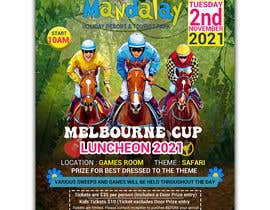 #101 for Melbourne Cup Luncheon Flyer 2021 by israfilbsj