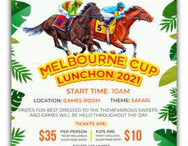 #21 for Melbourne Cup Luncheon Flyer 2021 by zainal917