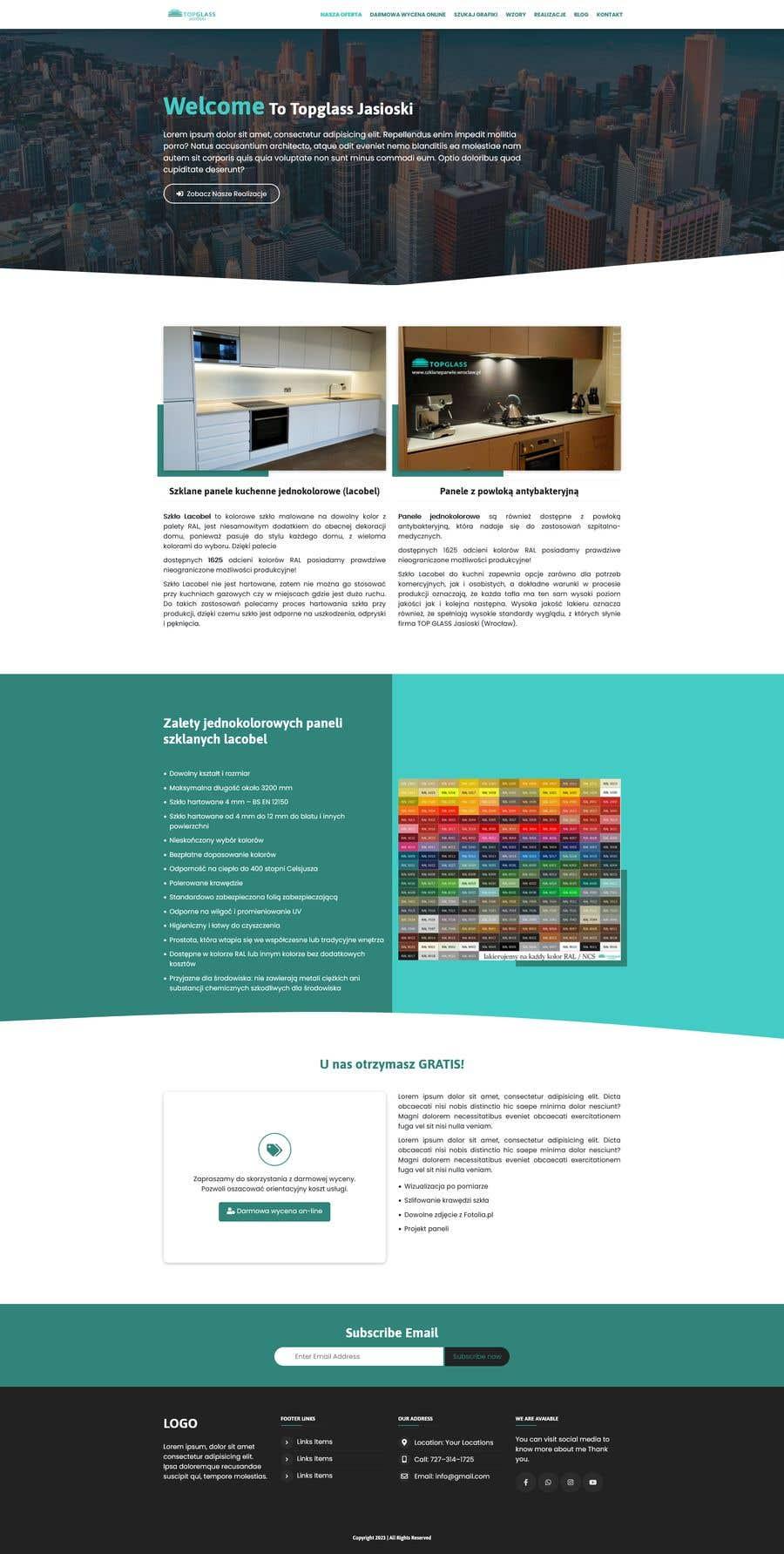 Proposition n°                                        3                                      du concours                                         Re-design website for easier UX and UI