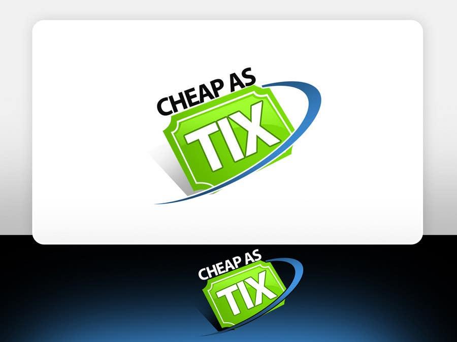 Contest Entry #126 for Logo Design for Cheap As TIX