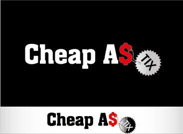 #117 for Logo Design for Cheap As TIX by spikeboy