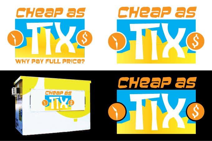 Penyertaan Peraduan #59 untuk Logo Design for Cheap As TIX