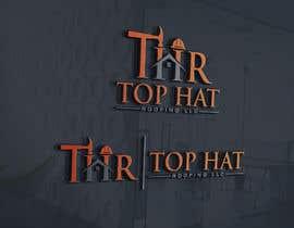 Logoexpertmamun tarafından Top Hat Roofing LLC company logo design için no 1140
