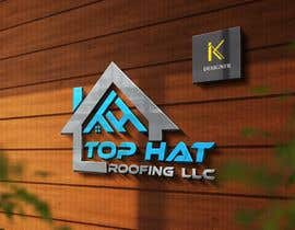 Junaidkhan8044 tarafından Top Hat Roofing LLC company logo design için no 975