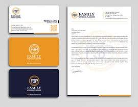 #189 para Business card & letterhead - simple financial business por Uttamkumar01