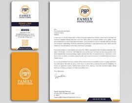 #191 para Business card & letterhead - simple financial business por Uttamkumar01