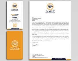 #192 para Business card & letterhead - simple financial business por Uttamkumar01