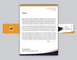 #279 para Business card & letterhead - simple financial business por creativesourav