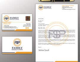 #149 para Business card & letterhead - simple financial business por swaponroy2000