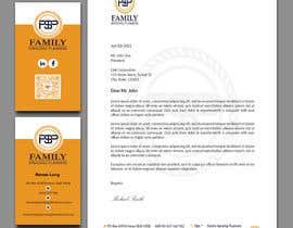 #123 para Business card & letterhead - simple financial business por roysoykot