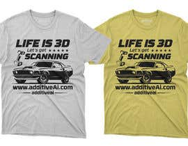 #49 for Need graphics design for a car T-shirt by rbnakib66