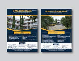 #28 untuk Flyer design for Degree college  and PU College, Admission Open announcement . Data mentioned Below. Use extra oleh designconcept86