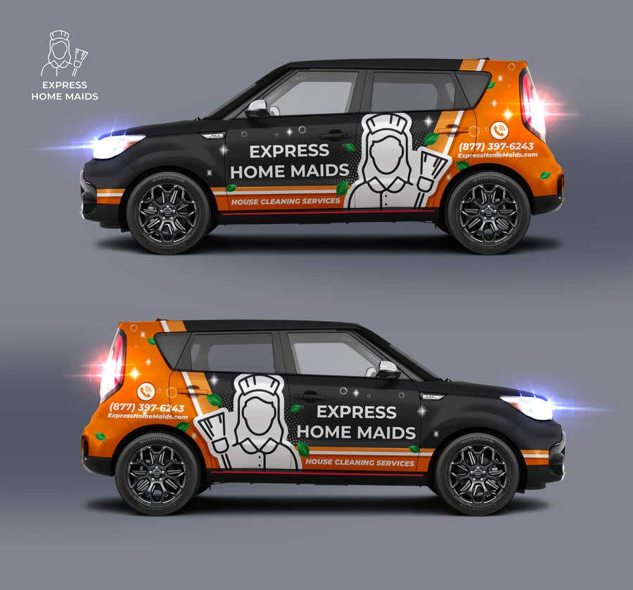 Proposition n°                                        30                                      du concours                                         CAR WRAP DESIGN CONTEST FOR HOUSE CLEANING COMPANY
