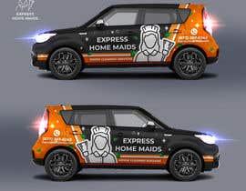 nº 30 pour CAR WRAP DESIGN CONTEST FOR HOUSE CLEANING COMPANY par IrynaSokolovska