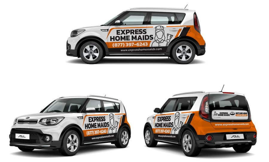 Proposition n°                                        50                                      du concours                                         CAR WRAP DESIGN CONTEST FOR HOUSE CLEANING COMPANY